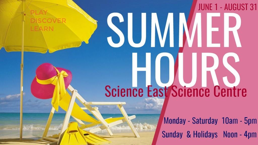 SE Summer Hours