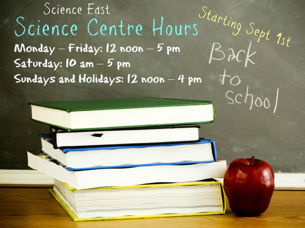 Winter hours - back to school