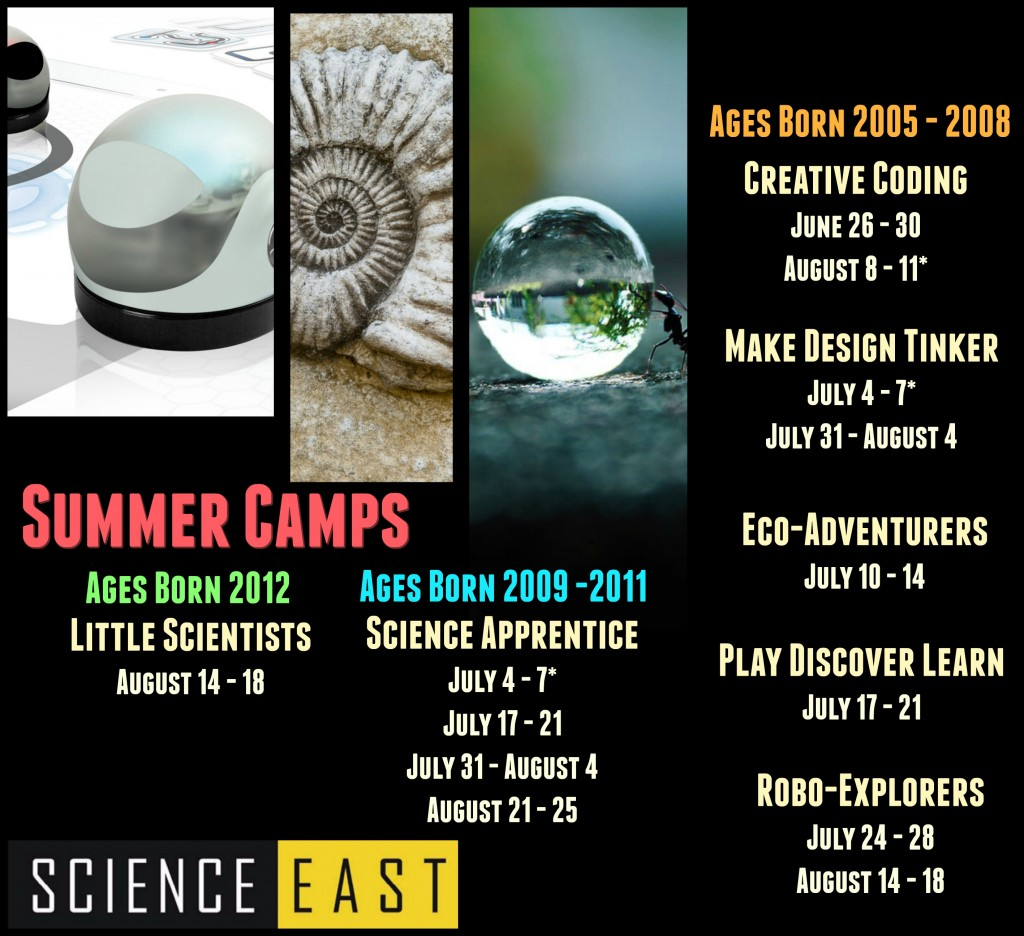 Summer Camps one sheet