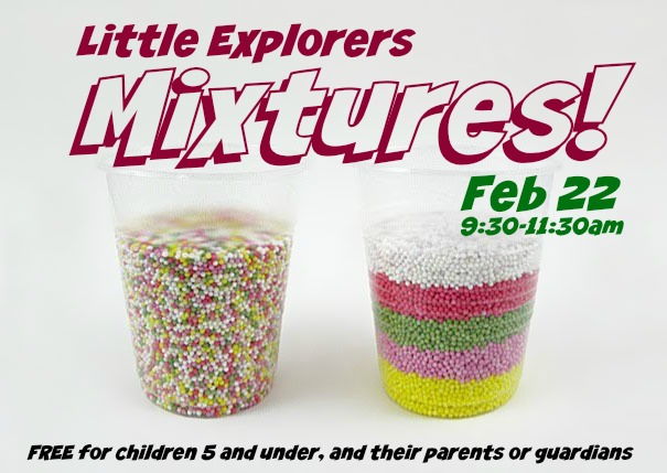 Little Explorers - Mixtures