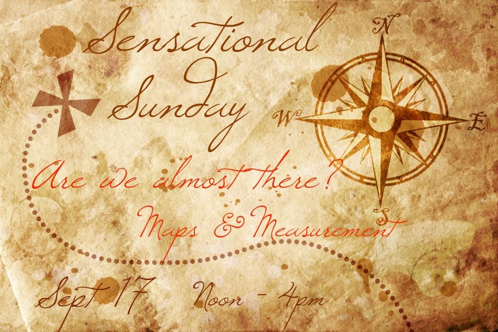 sensational sunday maps