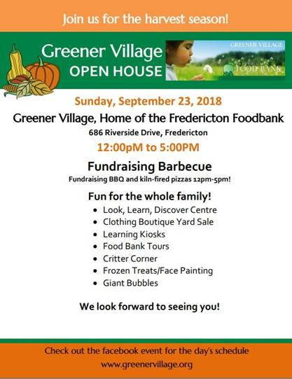 greener village open house 2018